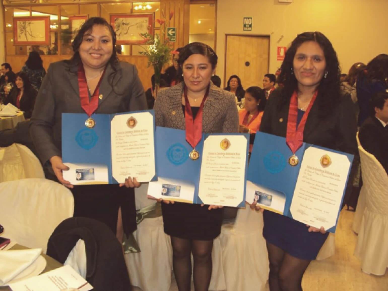 Colegiatura en el Colegio de Contadores Públicos del Perú