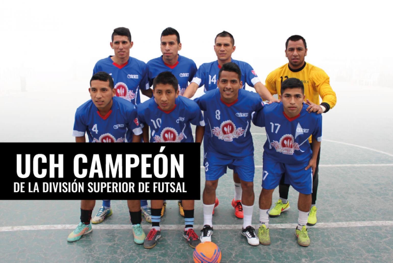 Selección de futsal UCH